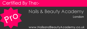 Certified By The Nails and Beauty Academy